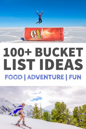 Cool Bucket List Ideas | Unique Bucket List Items