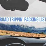 Road trip packing list – 18 items that are actually useful