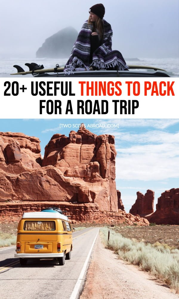Road trip packing list | how to pack for a road trip | what to bring for a road trip | tips for taking a road trip | road trip travel tips | how to survive a road trip | best road trips | how to plan a road trip