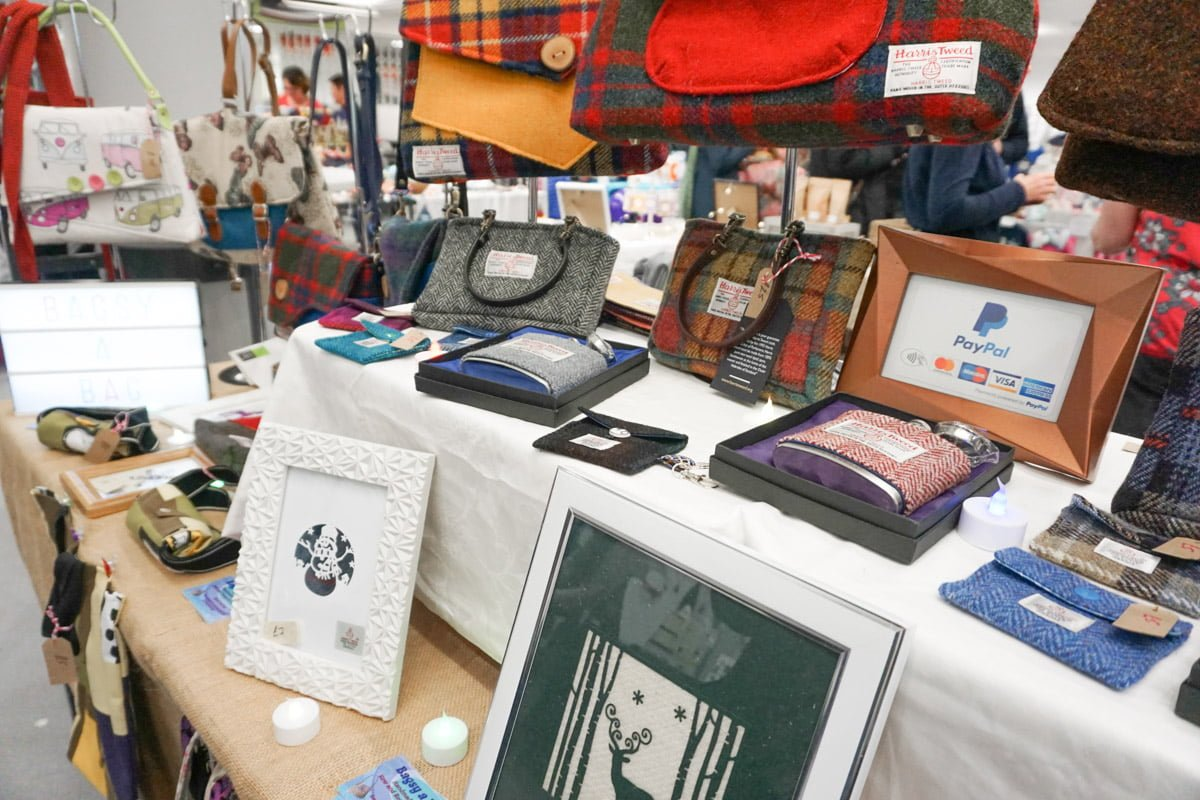 Harris tweed gifts Scottish gifts for her