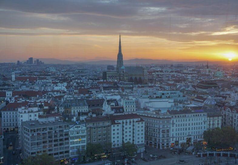 Das LOFT rooftop bar Hotel Sofitel Vienna