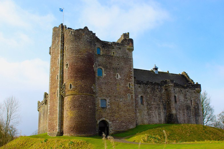 Outlander locations in Scotland - Doune Castle