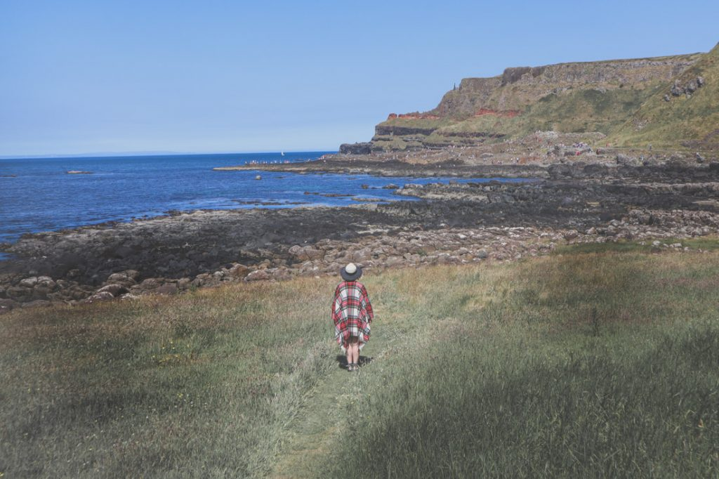 Scotland Gifts - Tartan Plaid Poncho