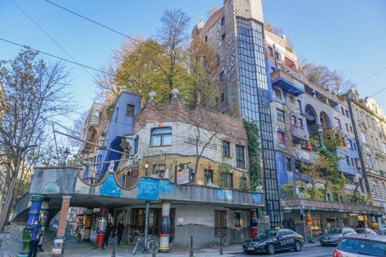 Hundertwasserhaus Vienna_