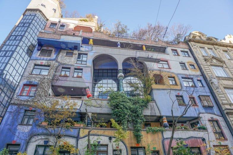 Hundertwasserhaus building Vienna_