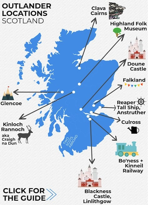 Outlander Locations Scotland - Outlander Tours Scotland