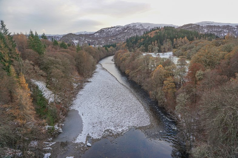 River Garry Bungee Jump Scotland