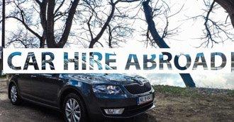 Car hire abroad