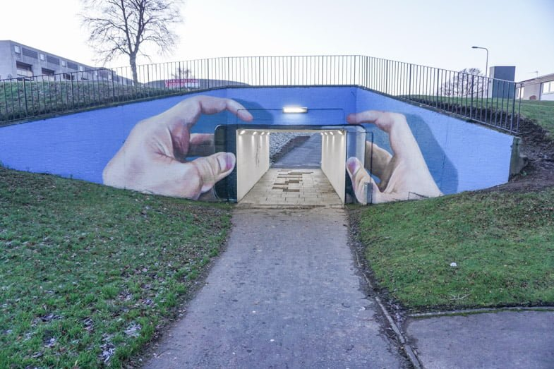 3 Stories Behind Fife 39 S Emerging Street Art Scene