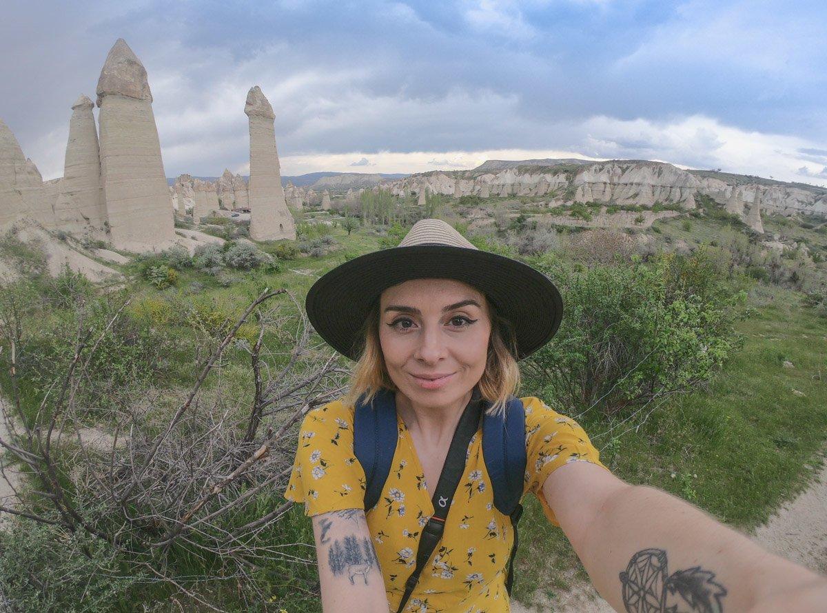 Love Valley hike Cappadocia