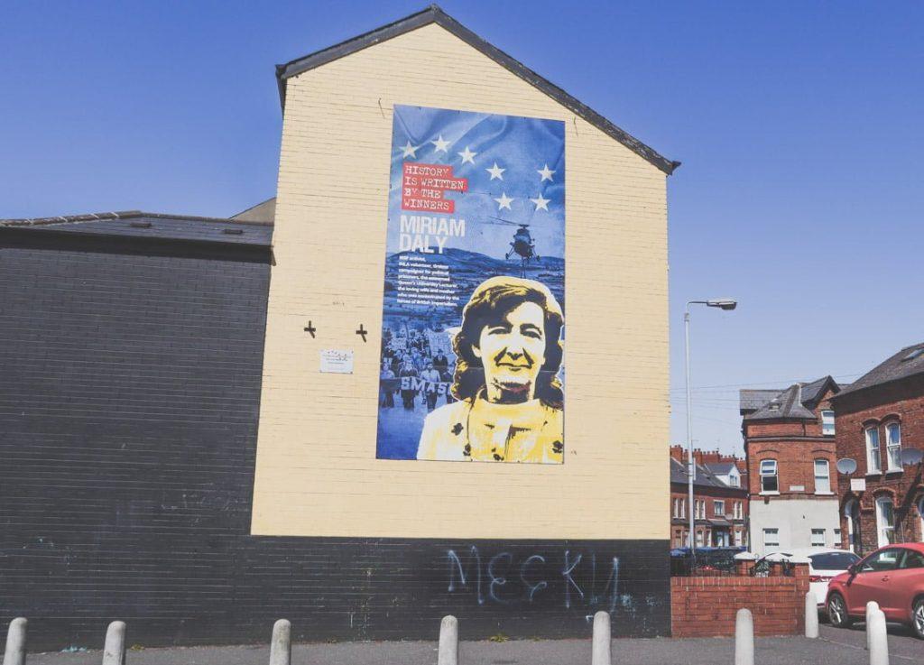 Miriam Daly Mural Belfast