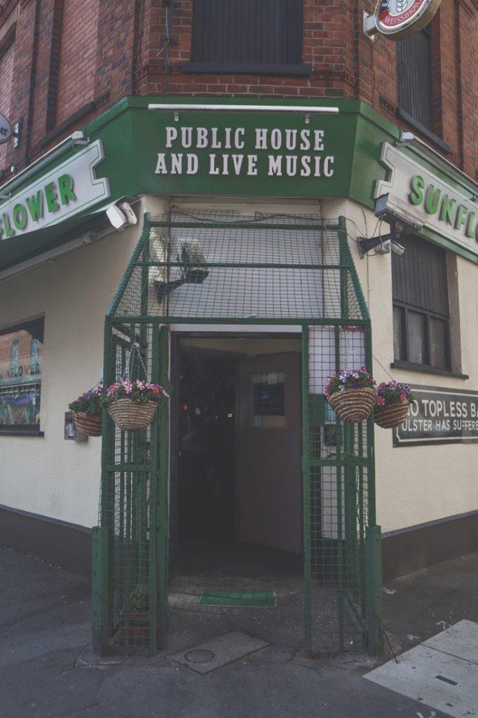 Sunflower Caged bar Belfast