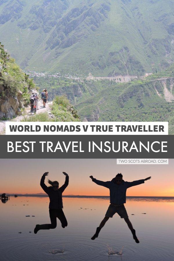 Best travel insurance World Nomads True Traveller