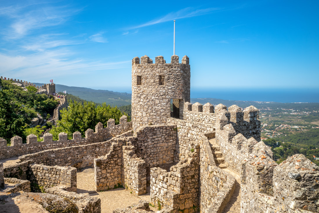 Castle of the Moors at Sintra