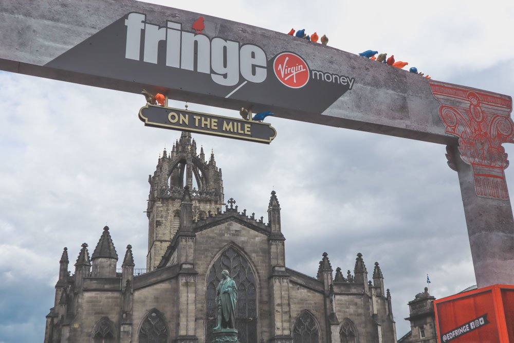 Fringe on the Mile Edinburgh