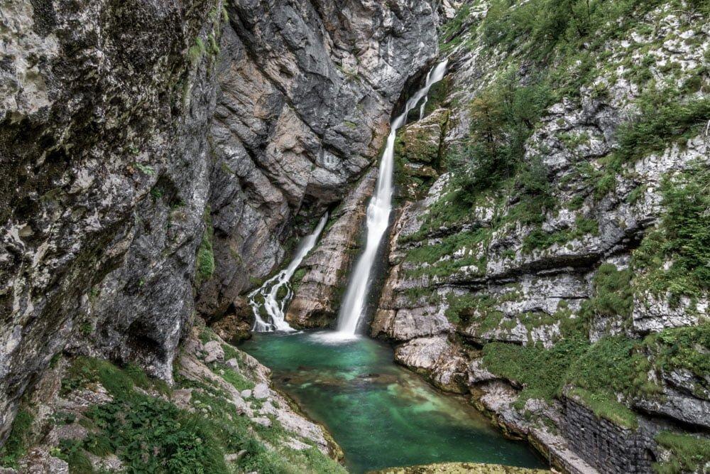 Slap Savica near Ljubljana