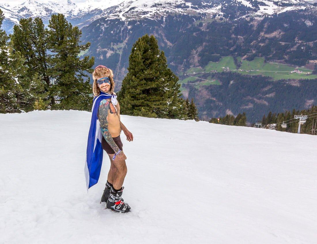 Snowbombing Mayrhofen Austria