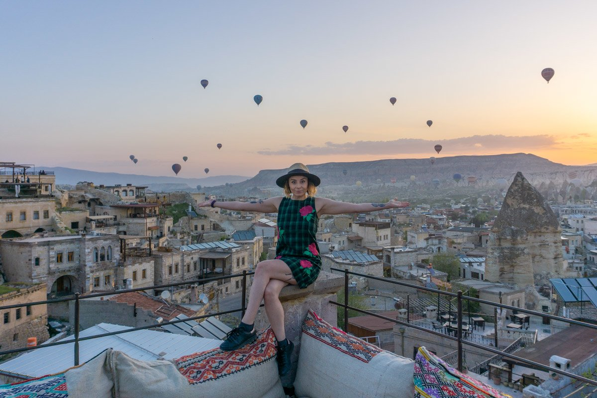 Gemma Armit Travel Blogger Cappadocia Turkey