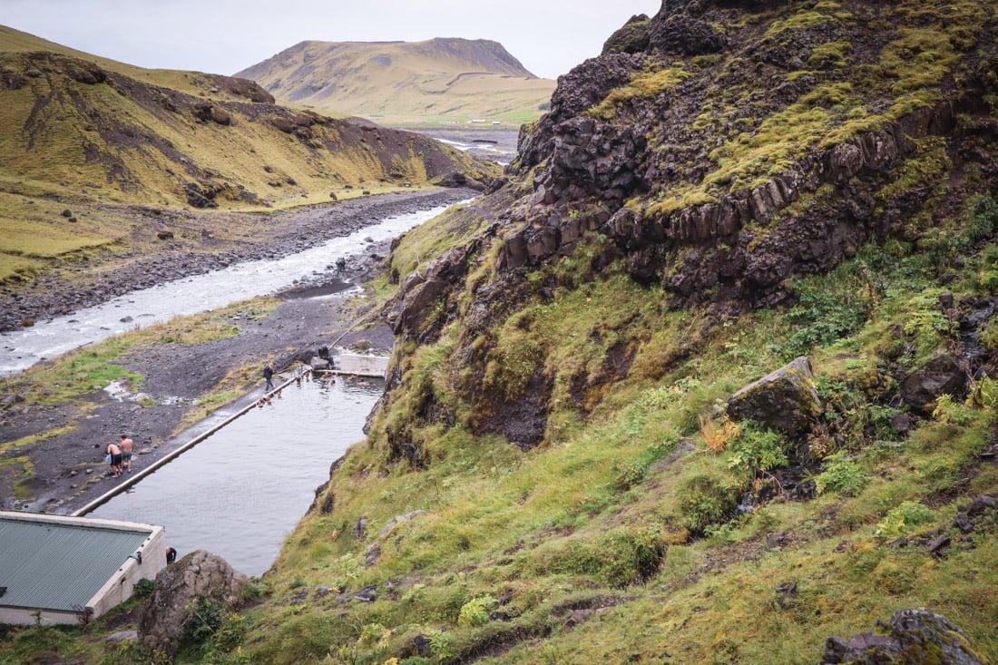 Seljavallalaug Geo Pool Near Vik