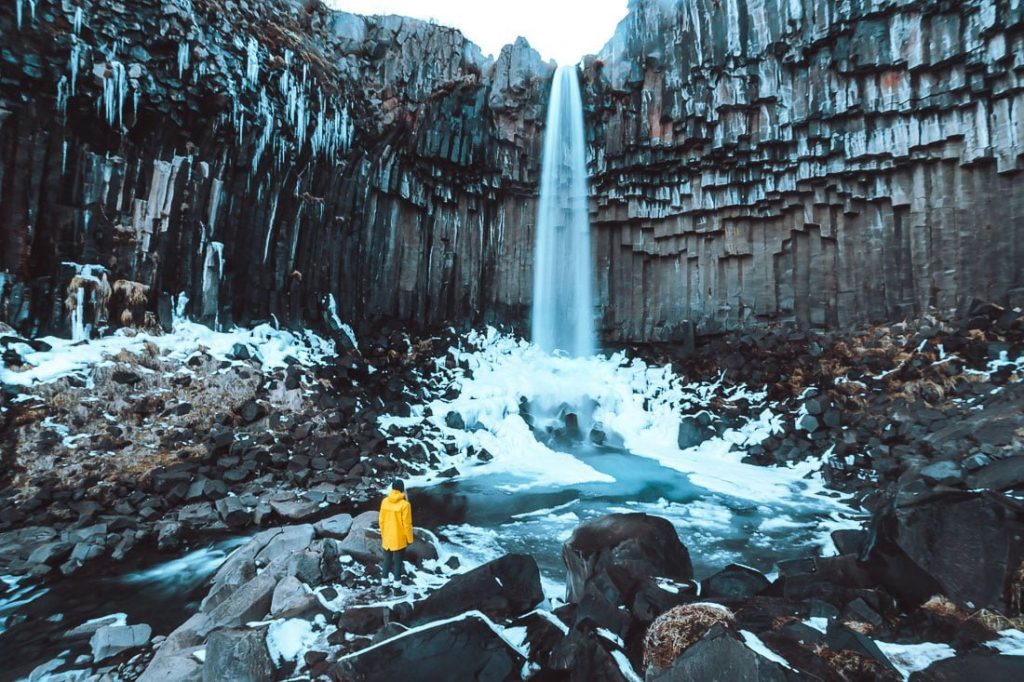 Svartifoss Waterfall Hike Iceland