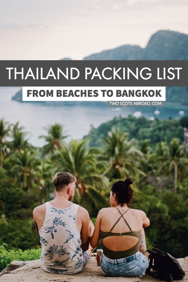 This Thailand packing list details the essential travel gear for your Thailand itinerary. Free downloadable checklist included.