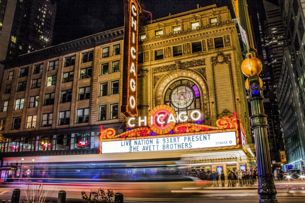 Chicago theatre Christmas shows