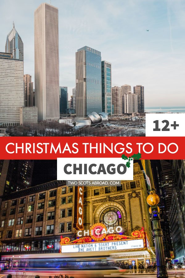 Chicago things to do in Winter. Christmas activities in Winter in Chicago, USA