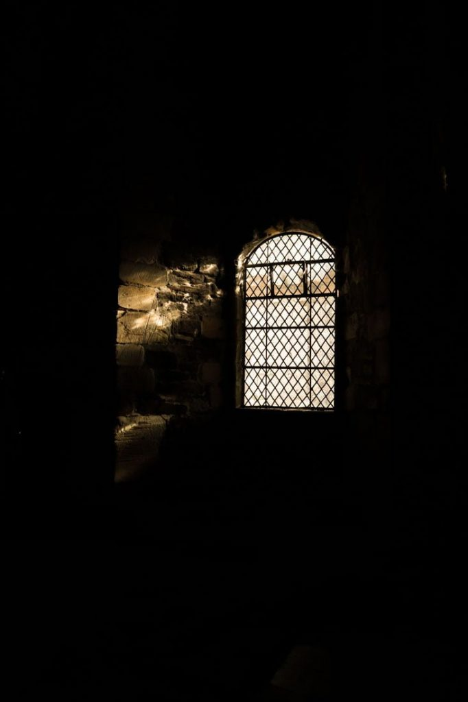 Doune Castle Window Scotland
