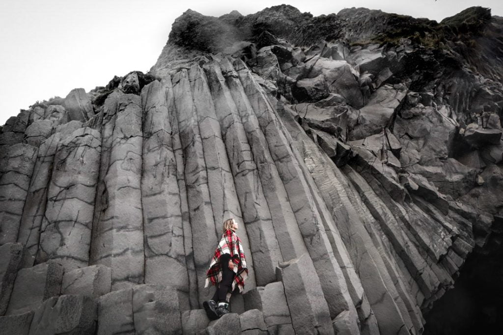 GA Reynisfjara Icelands Black Stack