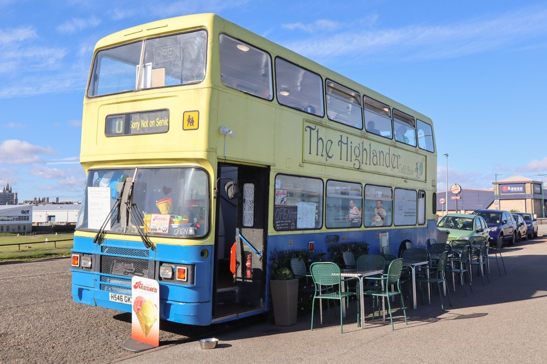Highlander Cafe Bus Aberdeen