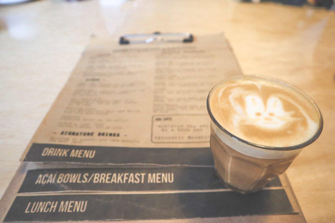 Honest Coffee Menu