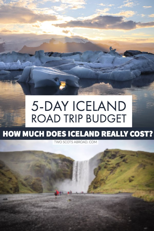 Iceland budget tips - How much does Iceland cost. Iceland travel itinerary and prices.