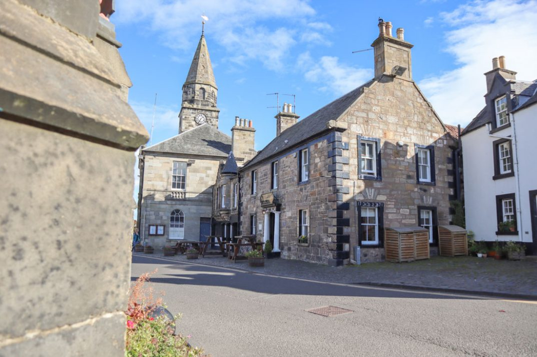 Mrs Baird B&B Outlander Falkland Scotland_