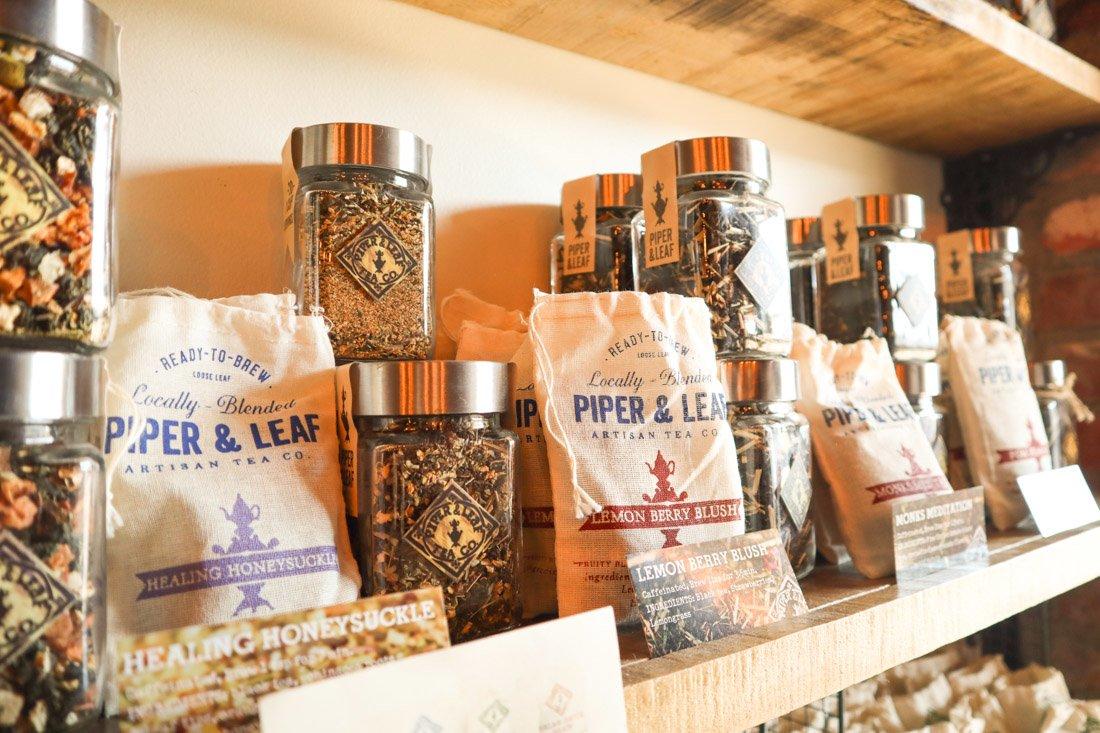 Piper and Leaf Tea Lowe Mill Huntsville_