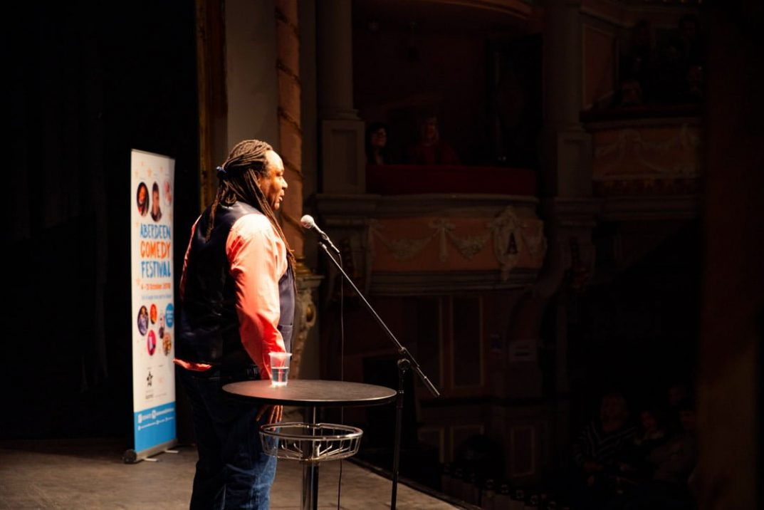 Aberdeen Comedy Festival Reginald D Hunter