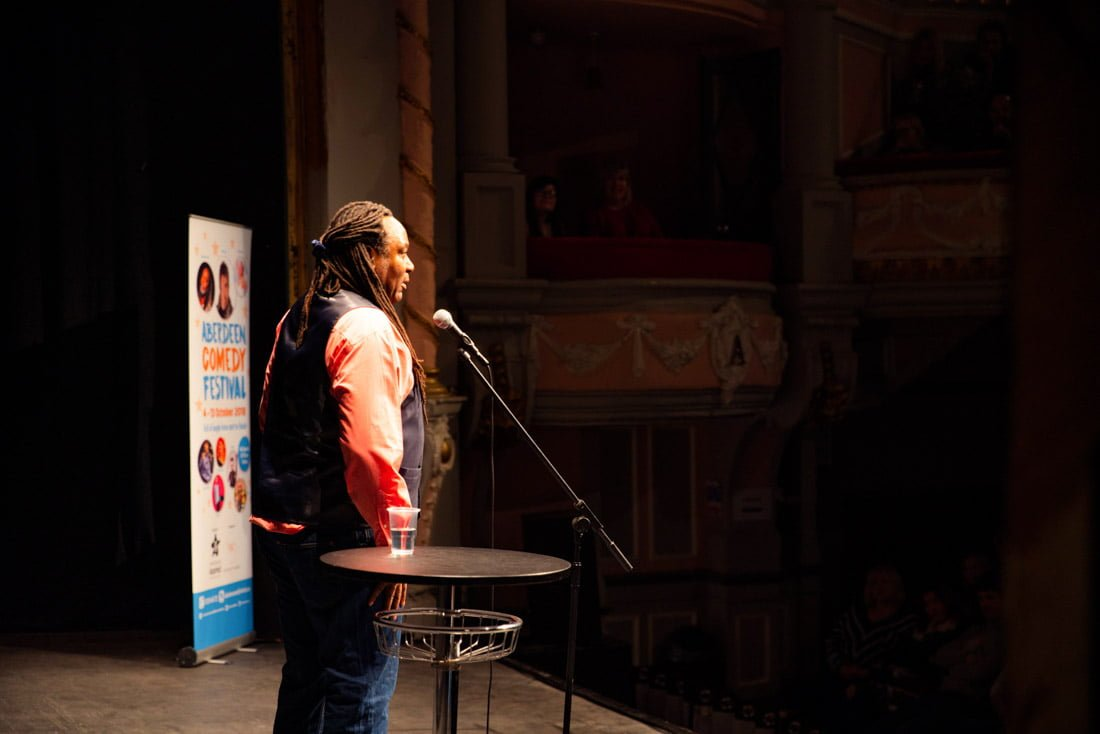 Aberdeen Comedy Festival Reginald D Hunter