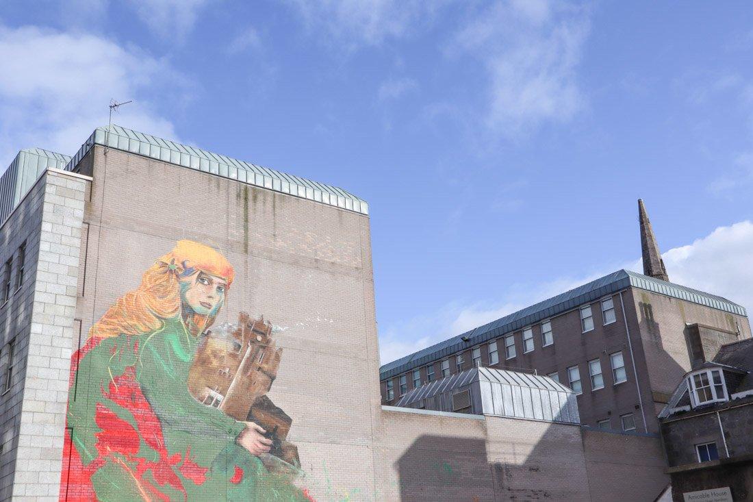 Aberdeen Nuart Street Art Union Row