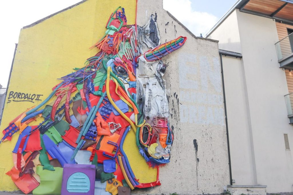 Street Art Union Row Unicorn