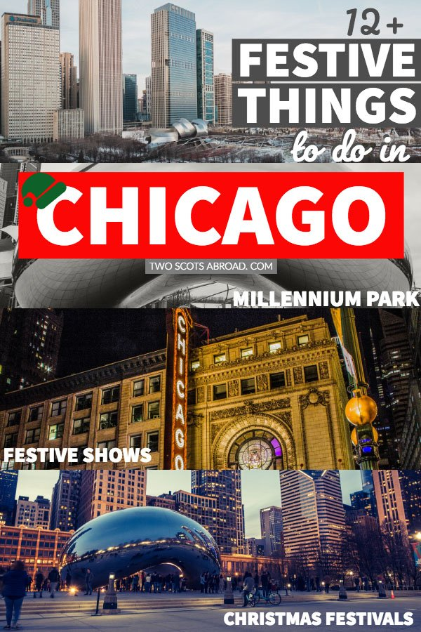 things to do in chicago at christmas christmas activities in winter in chicago usa