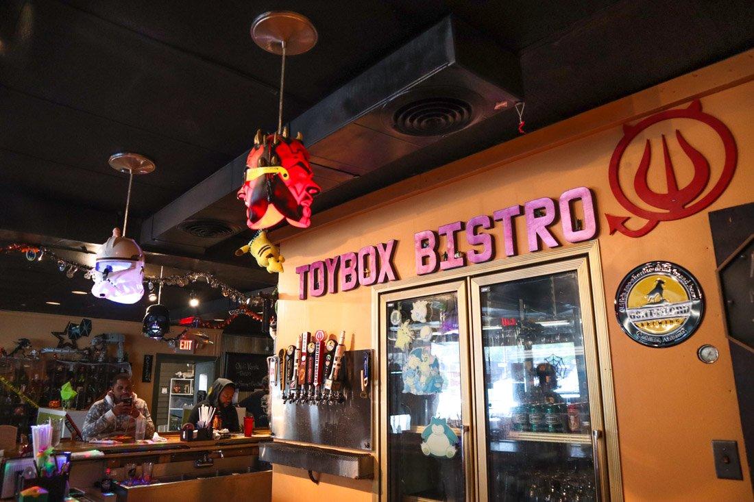 Huntsville Restaurants Toybox Bistro