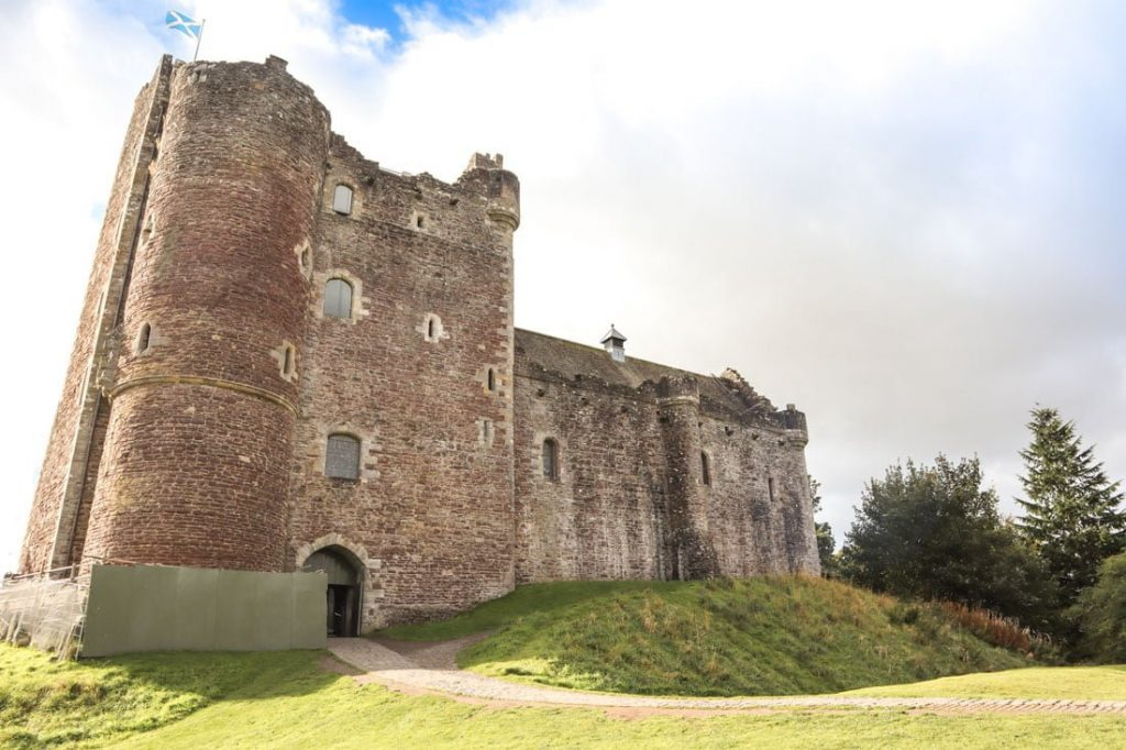 Doune Castle Scotland Outlaw King Netflix