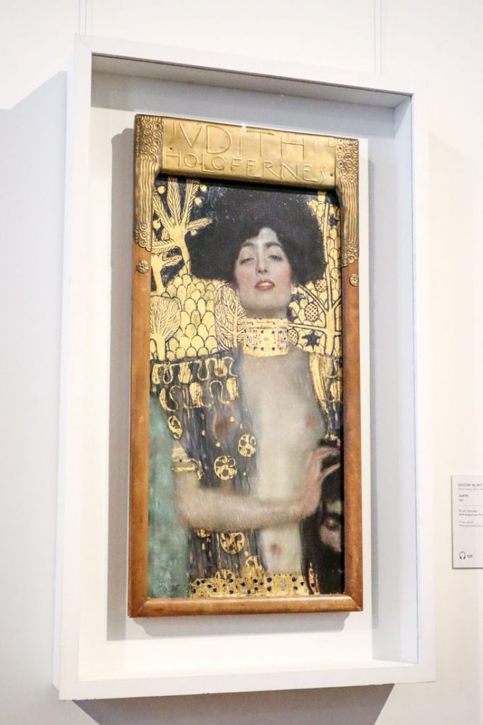 Belvedere Klimt Judith I