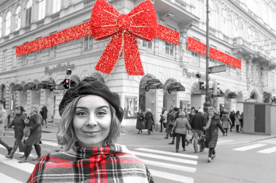 Popp and Kretschmer Vienna Christmas Bow Ribbon