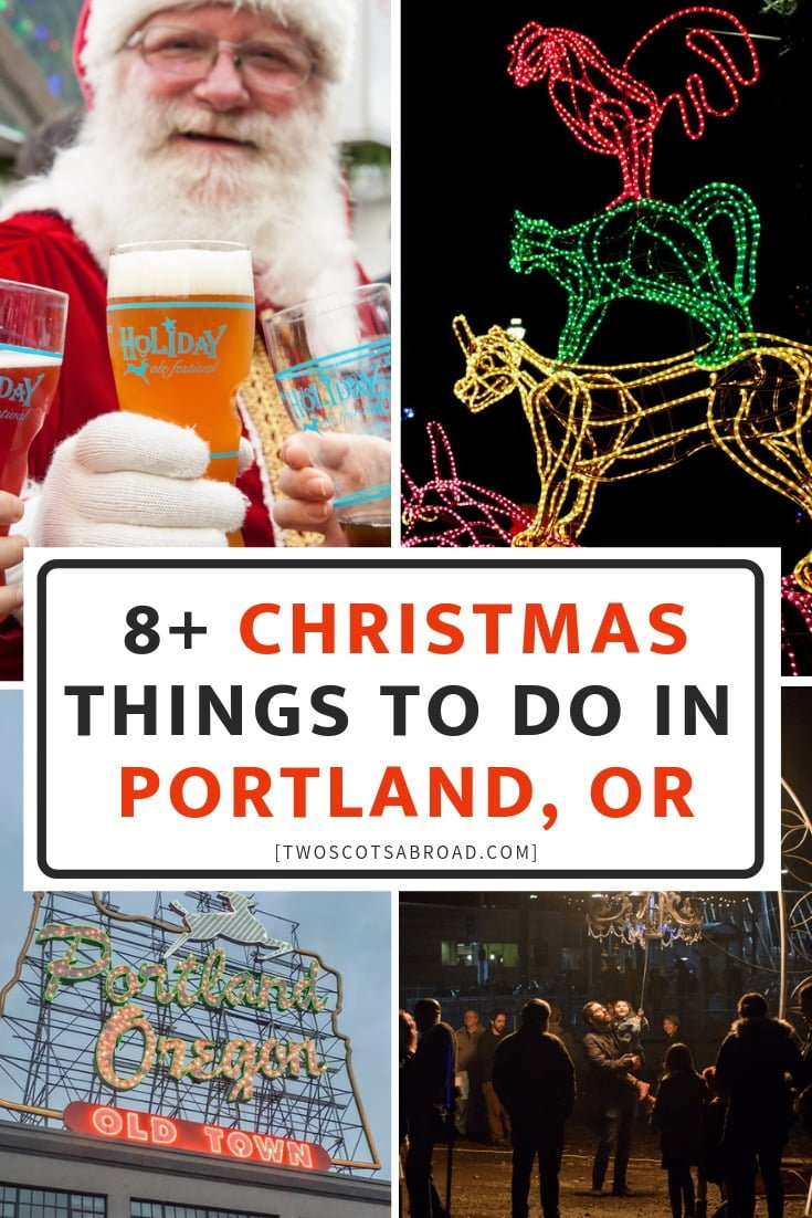Portland Oregon Winter | Things to do in Portland Oregon | Portland Things to do | Portland Zoo Lights | Portland Travel | Portland food and where to eat | Cheap budget free Portland | Portland Oregon Christmas | Portland Bazaar | Portland Winter activities