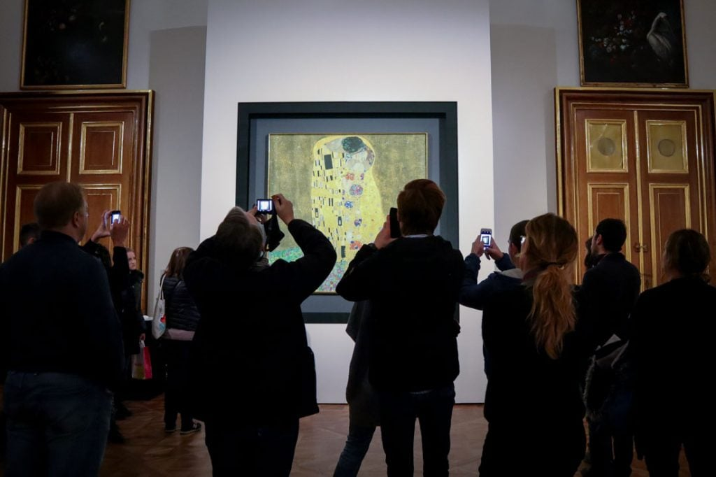 Belvedere Klimt The Kiss