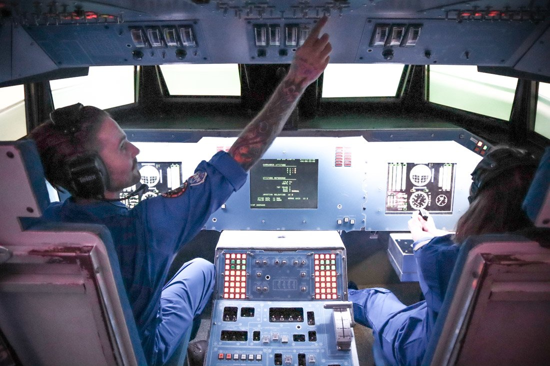 Simulation Orion Spacecraft Alabama