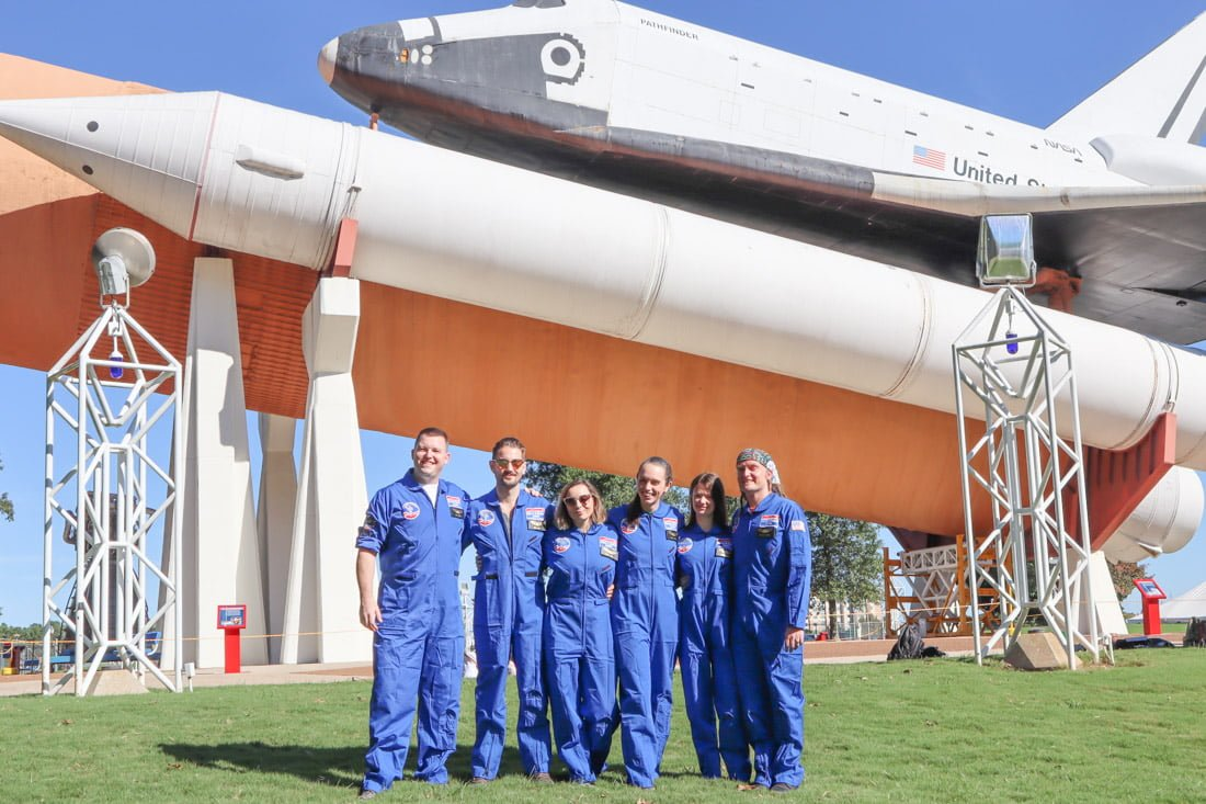 Space Camp Trainees