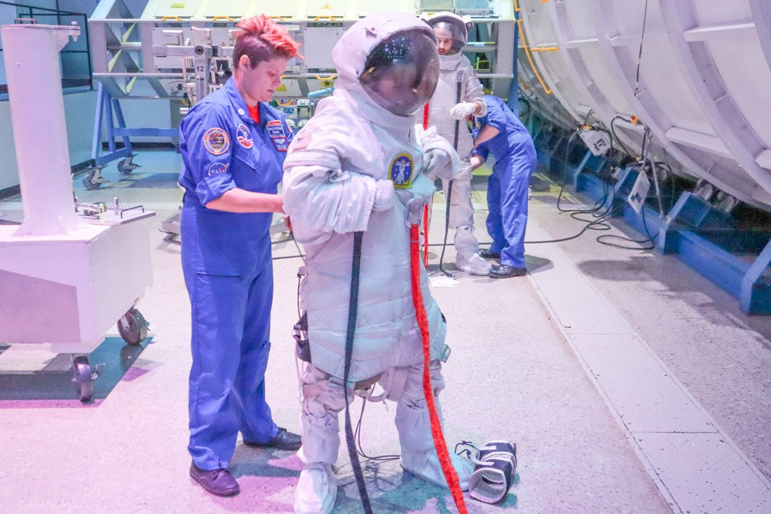 Space Station Simulation Space Camp USA
