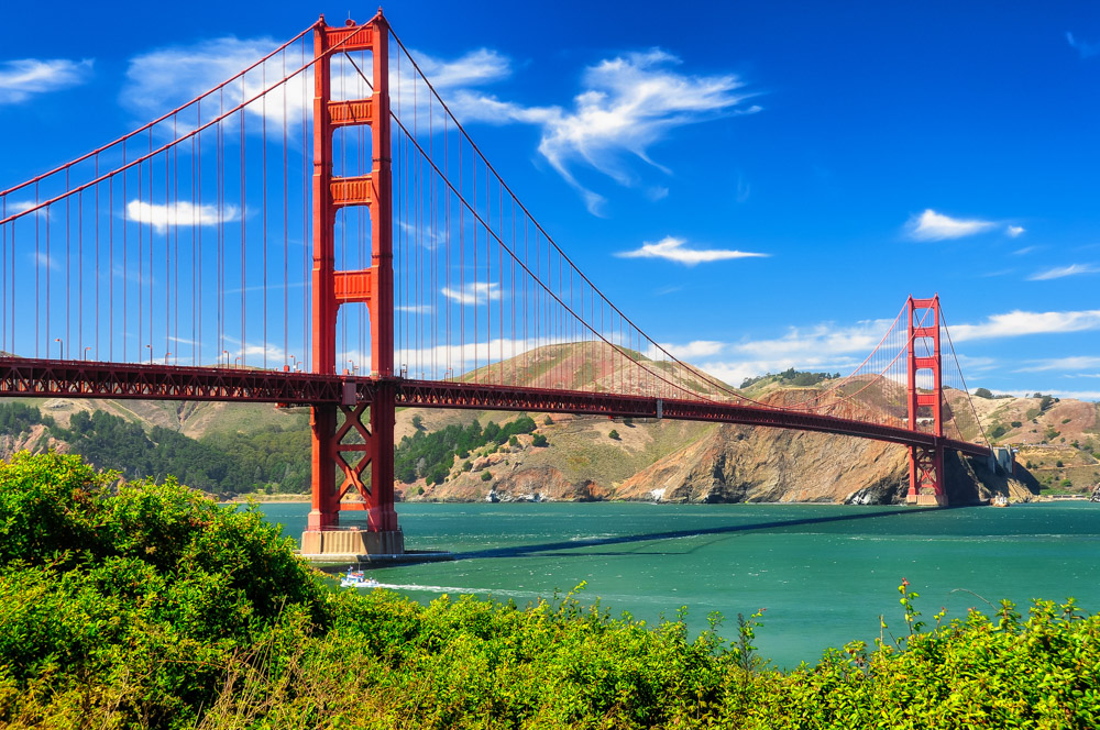 Golden Gate Bridge - San Francisco itinerary 3-5days