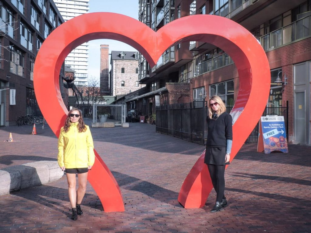 Red Heart Toronto Distillery District_